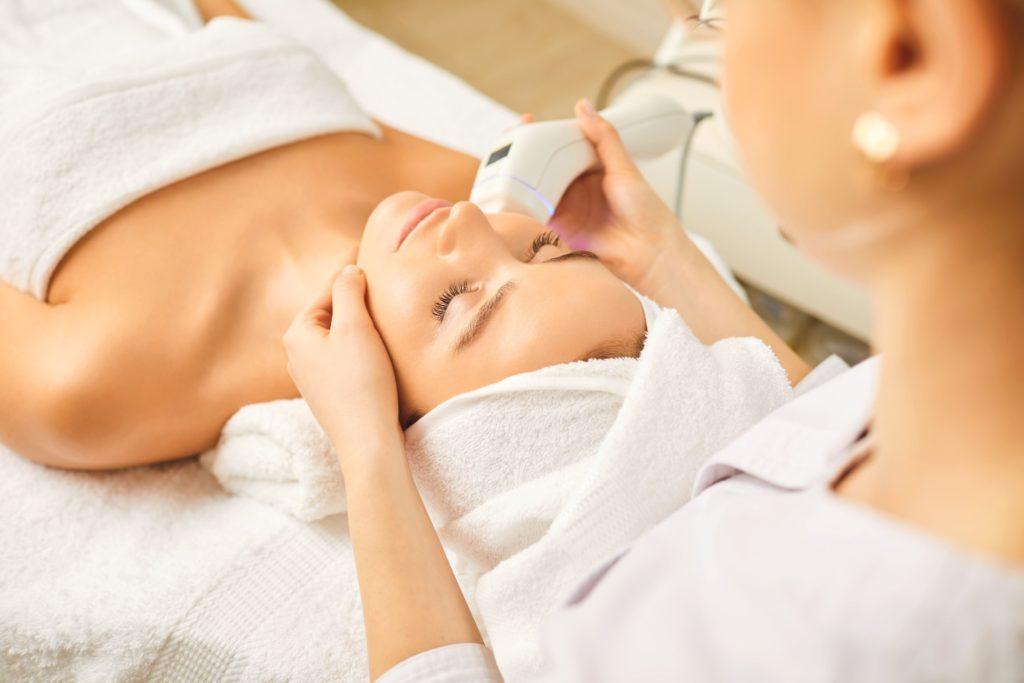 美容クリニックでのレーザー治療や美肌治療
